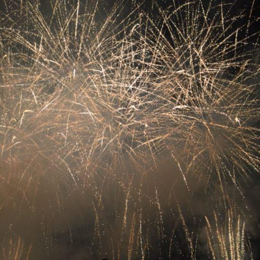 圧巻の45分で8000発の花火 毎年8月1日に行われます【伊豆の国花火大会】