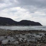 【サーフィン】伊豆宇佐美 一番海水温が低い時期は3月