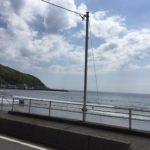 【サーフィン】東伊豆 宇佐美 トロ厚い波なので焦らずじっくりと乗る