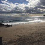 2018年のサーフィン初乗りは伊豆大浜 グリグリの掘れ掘れで波乗り