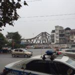 【ベトナム・ハノイ】観光スポットのロンビエン橋の景観が美しかったよ