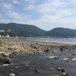 【サーフィン】台風一過の夏の宇佐美海水浴場はスモールダンパーでした
