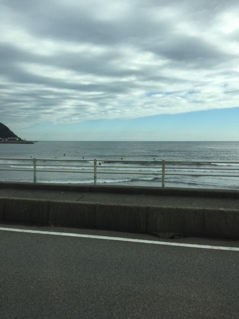 【サーフィン】伊豆宇佐美で秋の波乗り~微妙な波質でした~