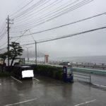 【サーフィン】小雨の吉浜~面ツルだけどワイドでした。。。