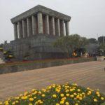 【ベトナム・ハノイ観光】ホーチミン廟で本物のホーチミンとご対面しました!